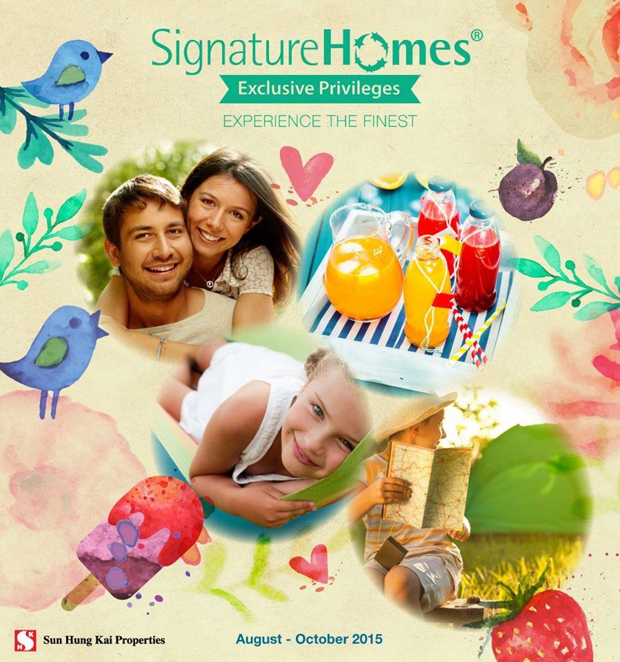 Signature Homes 住客優惠