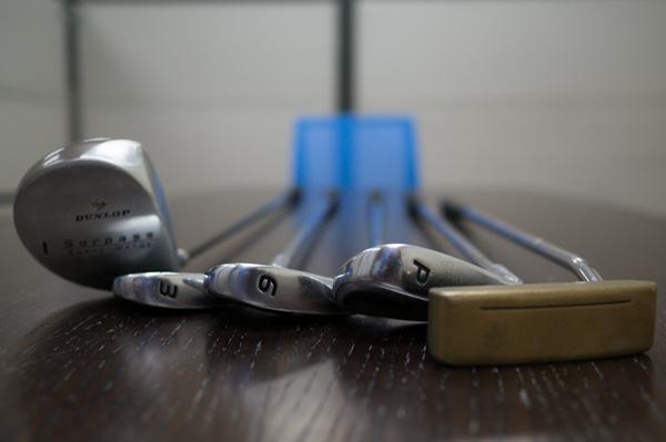 高爾夫球用品的保養及儲存