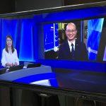 董事總經理宗立國接受有線電視訪問