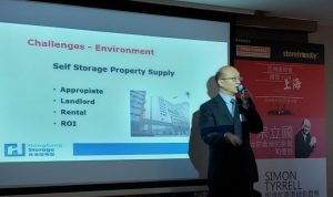 "Mr Alex Chung Is Invited as Guest Speaker in ""Inspiration: Hong Kong"" Organised by Self Storage Association Asia"
