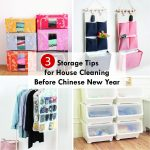 3 Storage Tips for House Cleaning Before Chinese New Year